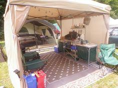 Setup at North Branch Bluegrass Festival 2012 (Festival Camping Hacks)