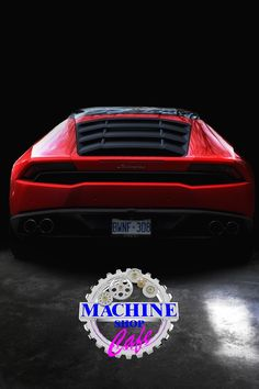 Visit The MACHINE Shop Café... ❤ The Best of Lamborghini... ❤ (Lamborghini Huracán LP610-4)