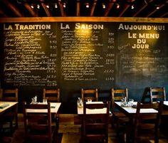 Bleu Bohème, Kensington, SD.   Romantic dining.