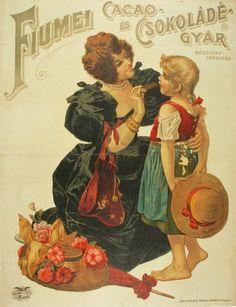 Fiumei Csokoládé-gyár reklám