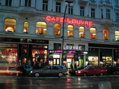 Cafe Louvre #prague #coffee #breakfast #center Prague, Cosy, Places To See, Coffee Shop, Brunch, Louvre, Breakfast, Drinks, Coffee Shops