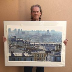 Beautiful Paris in Paintings - HyperRealism Art - vianinja Colour Architecture, Watercolor Architecture, Art And Architecture, Watercolor Illustration, Watercolor Paintings, Watercolors, Watercolor Tips, Paris Drawing, Beautiful Paris