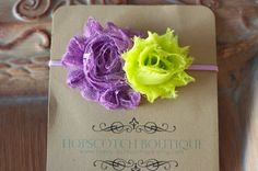 Neon Lime and Purple shabby chic headband Shabby Chic Headbands, Neon Outfits, Hopscotch, Shabby Flowers, Diy Hair Accessories, Purple Lace, Elastic Headbands, Diy Hairstyles, Beautiful Hands