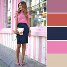 Color combinations for Spring 2016