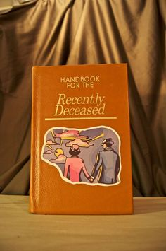 Beetlejuice Handbook for the Recently Deceased iPad cover!! #FanRepins #Beetlejuice