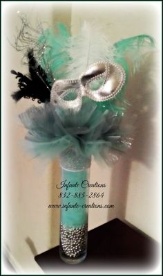 Distinguished conceived quinceanera center pieces Buy this item - New Site Sweet 16 Masquerade, Masquerade Wedding, Masquerade Theme, Masquerade Ball, Masquerade Party Centerpieces, Masquerade Decorations, Wedding Centerpieces, Feather Centerpieces, Graduation Centerpiece