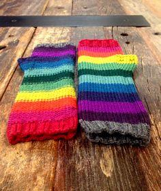 Ravelry: Rainbowtastic Mitts pattern by Kristen Ashbaugh-Helmreich