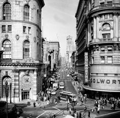 Remember Woolworth after school? IN THE 70s though! 32 Stunning Photos Of San Francisco In The 40s And 50s