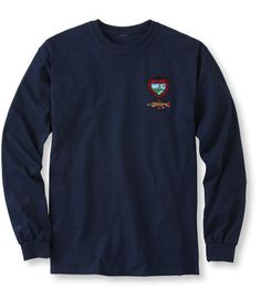 Maine Inland Fisheries and Wildlife Tee, Long-Sleeve Brook Trout: Fishing Shirts | Free Shipping at L.L.Bean