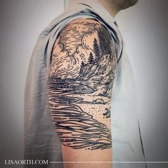 1337tattoos: Lisa Orth #landscape