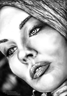 Girl portrait 02 by Willhorn.deviantart.com