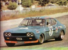 Ford Capri 2600 RS, driven by François Cevert (and Jackie Stewart) at the 1972 of Paul Ricard. Jackie Stewart, Ford Capri, Road Race Car, Race Cars, Ford Motor Company, Le Mans, Ford Motorsport, Tuner Cars, Sports Car Racing