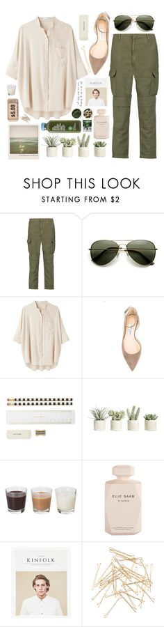 """""""gray"""" by vinylrekords ❤ liked on Polyvore featuring rag & bone, Steven Alan, Jimmy Choo, Polaroid, Kate Spade, Allstate Floral, Elie Saab, Monki and Tea Collection"""