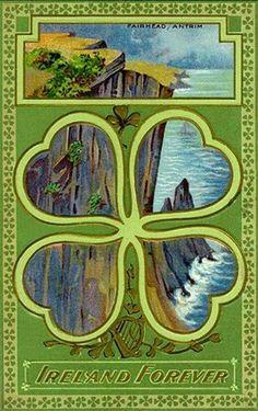 Vintage card... Ireland