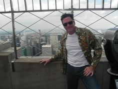 """August 6, 2012: Actor and poet Michael Madsen, known for his roles in """"Donnie Brasco"""", """"Reservoir Dogs"""", """"Thelma and Louise"""", and television show """"24"""" visited us this weekend to enjoy our 360-degree views of NYC."""
