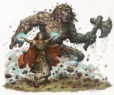 Earth Priestess (13th Age Glorantha)