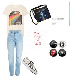 """""""Pink Floyd"""" by lovelylexluther on Polyvore featuring MadeWorn, Vans, Baker & Taylor and MyFaveTshirt"""