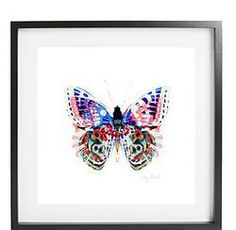 Papillon Flamant Print