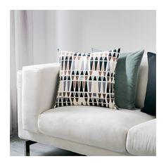 MALISEN Cushion, white, beige 50x50 cm white/beige