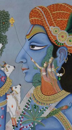 Pichwai Paintings, Mughal Paintings, African Art Paintings, Peacock Painting, Boat Painting, Krishna Painting, India Art, Cool Art Drawings, Traditional Art