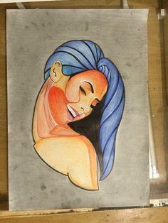 Genevieve :) #ink #ash #art #abstractart #copicmarkers #derwent Hologram, Ash Art, Disney Characters, Fictional Characters, Abstract Art, Aurora Sleeping Beauty, My Arts, Ink, Disney Princess
