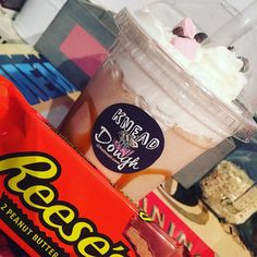 Friday's were made for milkshakes!  #tgifriday  #ReesesPeanutButterChocolateShake  #milkshake #freakshakes #cupcakes #bakes #treats #share #family #friends #strangers #love #laugh #live #shaw #oldham #manchester by knead_the_dough