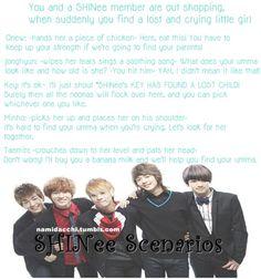 SHINee Scenarios | kpop scenarios