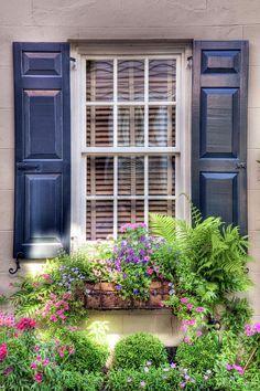Window Shutters on Pinterest   Black Shutters, Shutters and Blue ...
