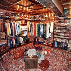 "Sarah Vicker's closet from ""Classy Girls Wear Pearls"" blog"