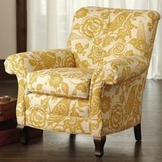 Arhaus Chair--I like the shape and fabric, but not so much the color