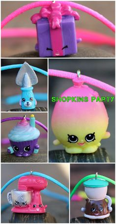 Are you having a SHOPKINS Party?  Here's a perfect gift for the birthday girl and also great as party favors!
