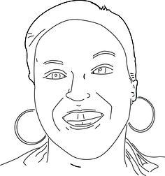 Bekijk de portret animatie van Juanita Wesenhagen. Juanita doet mee met de Kunst Kalender 2014.