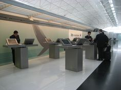 Cathay Pacific First Class Check in at Chel Lap Kok