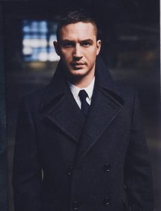 Tom Hardy + Peacoat http://stayfreshlooksharp.com/post/3559707323/i-need-to-get-my-peacoat-tailored-so-it-fits-like