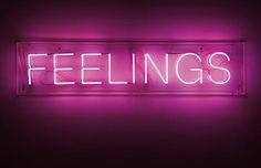 Martin Creed Work No. 287 (Feelings), 2003 neon, 16.5 x 100 cm. (6 1/2 x 39 3/8 in.) acrylic box: 25 x 110 x 8.5 cm. (9 7/8 x ...