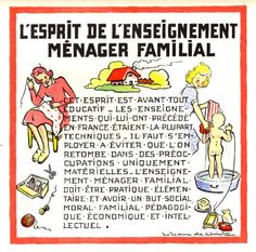 Liliane de Christen, l'enseignement ménager familial,illustrateur,illustration,édition