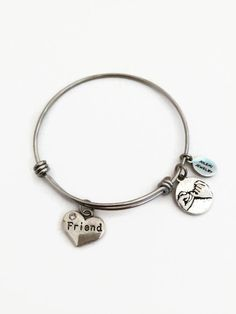 Friend Bracelet Friend Expandable Bracelet by JulemiJewelry. Limited quantities available. Click on photo to purchase yours today! Great friendship bracelets.