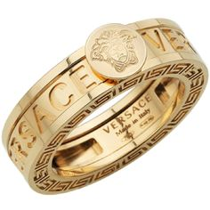 Versace gold band elegant and beautiful Versace Gold, Versace Men, Gianni Versace, Gold Jewelry, Jewelry Rings, Jewelry Watches, Jewelry Accessories, Gold Bracelets, Man Jewelry