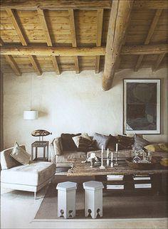 ceiling, walls....