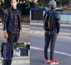 casual teenage boy outfit | Teen boys fashion, full ensemble casual look, modern style.