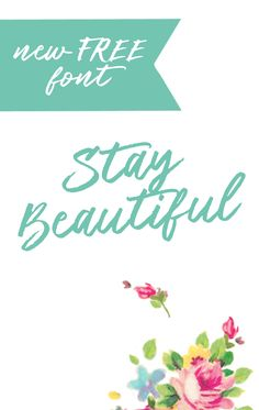 New Free Brush Font -Beautiful! - Free Pretty Things For You.  THIS ONE HAS NO EXPIRATION DATE!