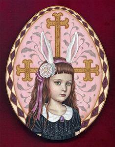 """Easter Egg-aka"" by Shiori Matsumoto - 2009"