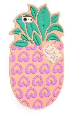 Keeping the tropical spirit alive all summer long with this pineapple-shaped case that's an absolutely sweet way to protect and display the phone.