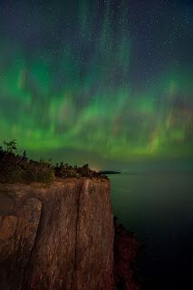 Jim Brandenburg: Pic of the Week: Aurora Borealis, Lake Superior