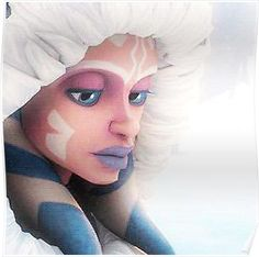 'Ahsoka Tano snow planet' Poster by Dylan-Simmoms – ThePins Star Wars Clone Wars, Star Wars Rebels, Star Wars Art, Sw Rebels, Star Wars Comic, Jedi Meister, Asoka Tano, Darth Vader, Darth Maul Clone Wars