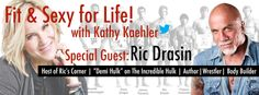 Great stuff on my show Fit and Sexy for Life with the awesome Ric Draisin.  http://www.latalkradio.com/archives/Fit-012214.mp3