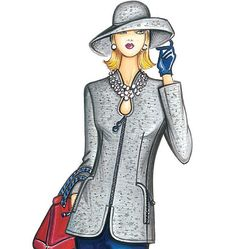 F3789, Marfy Jacket. But what I want is the hat!