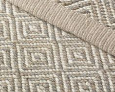 Elizabeth Eakins Handwoven Wool Rugs - mine is blue and white and I love it! eb
