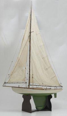 H.E. Boucher sailboat