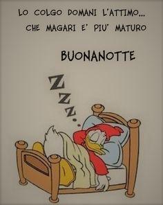 Buonanotte Paperino immagini Good Night Wishes, Good Morning Good Night, Funny Cute Cats, Sleep Tight, More Than Words, Good Mood, Fairy Tales, Motivation, Comics